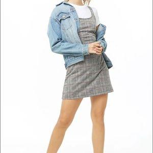 Glen Plaid Mini Dress